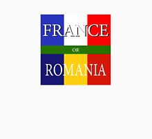 FRANCE or ROMANIA - UEFA Euro 2016 Unisex T-Shirt