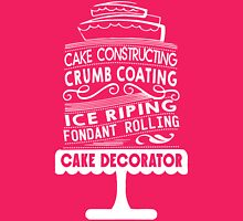Cake Baking Womens Fitted T-Shirt