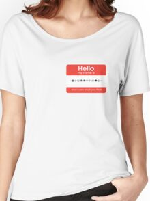 Hello my name is Blurryface Women's Relaxed Fit T-Shirt