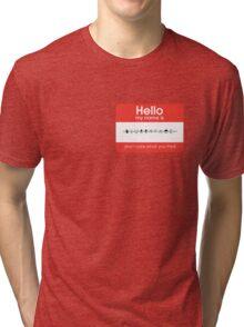 Hello my name is Blurryface Tri-blend T-Shirt
