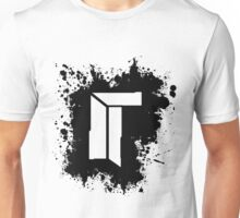 Titan Splat - Black Unisex T-Shirt