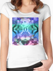 Reflective Dream Women's Fitted Scoop T-Shirt