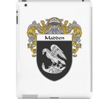 Madden Coat of Arms/Family Crest iPad Case/Skin