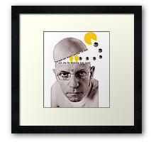 Michel Foucault Framed Print