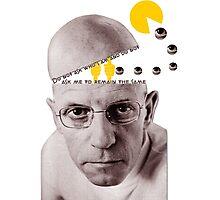 Michel Foucault Photographic Print