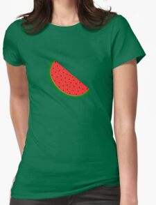 Watermelon #5 Womens Fitted T-Shirt