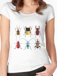 Cute Bugs Women's Fitted Scoop T-Shirt