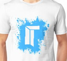 Titan Splat - Blue Unisex T-Shirt