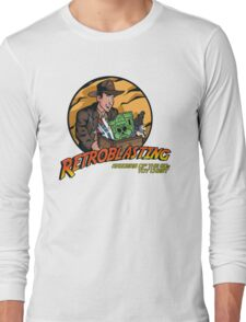 RetroBlasting Raiders of the 80s Toy Chest Long Sleeve T-Shirt