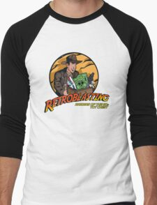 RetroBlasting Raiders of the 80s Toy Chest Men's Baseball ¾ T-Shirt