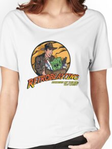 RetroBlasting Raiders of the 80s Toy Chest Women's Relaxed Fit T-Shirt