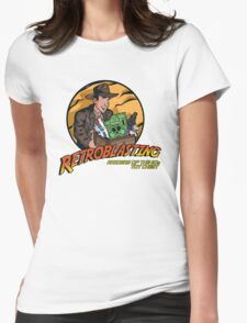 RetroBlasting Raiders of the 80s Toy Chest Womens Fitted T-Shirt