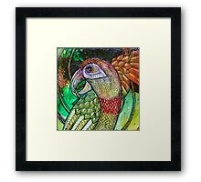 Laughing Parrot Framed Print