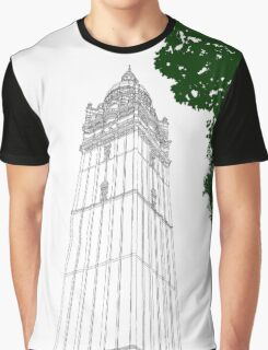 London Queen's Tower Graphic T-Shirt