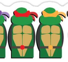 Heroes in a Half Shell Sticker