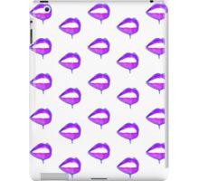 Dripping lips instagram trend iPad Case/Skin