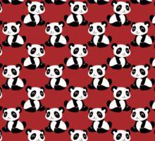 Red Panda Pattern Sticker