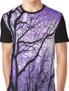 The Trees Know (purple) Graphic T-Shirt