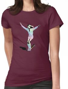 Retro Skate Womens Fitted T-Shirt