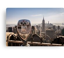 New York Lookout Canvas Print