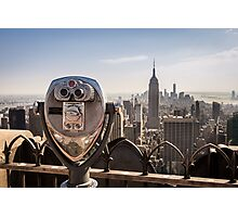 New York Lookout Photographic Print