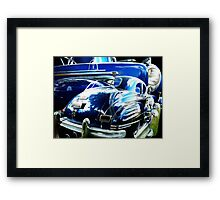 Forties Curves Framed Print
