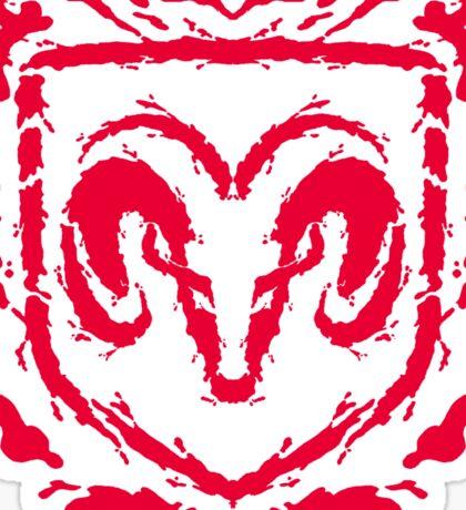Ramblot (red) Sticker