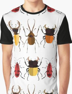 Cute Bugs Graphic T-Shirt