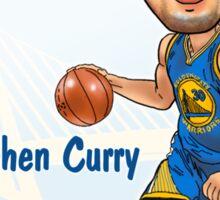 Stephen Curry Caricature Sticker