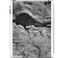 Bedrock Monochrome at Livermore Falls iPad Case/Skin