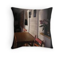 Light Coming In Throw Pillow