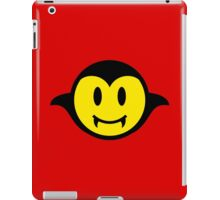 Vampire / Dracula Smiley iPad Case/Skin