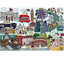 Queen's London Day Out Photographic Print