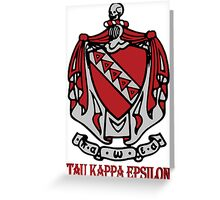 TKE - Coat of Arms Greeting Card