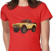 Yellow Dog Bronco T-Shirt!!! Womens Fitted T-Shirt