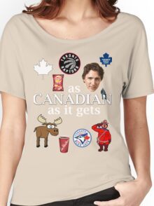 As Canadian as it Gets Canada Day Item Women's Relaxed Fit T-Shirt