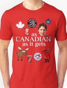 As Canadian as it Gets Canada Day Item Unisex T-Shirt