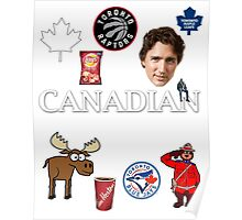 As Canadian as it Gets Canada Day Item Poster