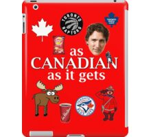 As Canadian as it Gets Canada Day Item iPad Case/Skin