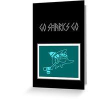 Hockey Shark VRS2 Greeting Card