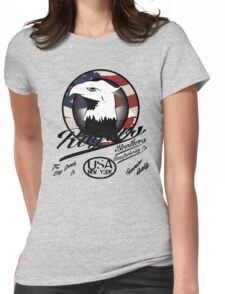 eagle usa by rogers bros Womens Fitted T-Shirt