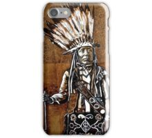 Indian with rifle iPhone Case/Skin