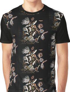Flower Fireworks Graphic T-Shirt