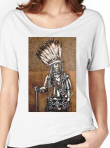 Indian with rifle Women's Relaxed Fit T-Shirt