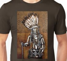Indian with rifle Unisex T-Shirt