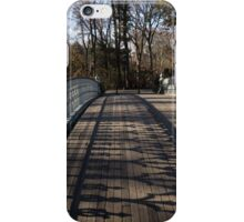 Central Park Bridge Shadows iPhone Case/Skin