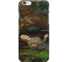 John Everett Millais - Ophelia.  iPhone Case/Skin