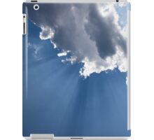 Blue Sky and Sun Rays iPad Case/Skin