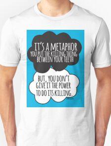 It's A Metaphor Cloud Design Unisex T-Shirt