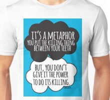 It's A Metaphor Cloud Design Unisex T-Shirt